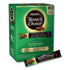 Nescafé® Taster's Choice Stick Pack, Decaf, 0.06oz, 80/Box