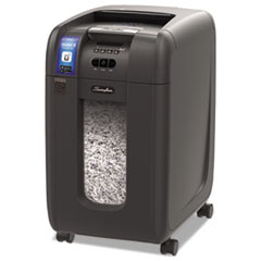 GBC® Stack-and-Shred 300XL Auto Feed Super Cross-Cut Shredder Value Pack, 300 Auto/8 Manual Sheet Capacity