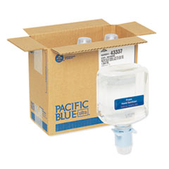 Georgia Pacific® Professional Pacific Blue Ultra Automated Sanitizer Dispenser Refill, 1000 mL Bottle, 3/CT