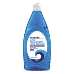 Boardwalk® Ultra Concentrated Liquid Dish Soap, Clean, 40 oz