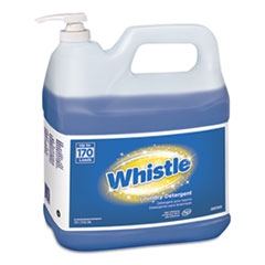 Diversey™ Whistle Laundry Detergent (HE), Floral, 2 gal Bottle, 2/Carton