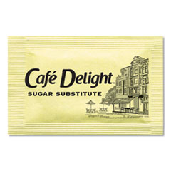 Café Delight Yellow Sweetener Packets