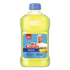 Mr. Clean® Multi-Surface Antibacterial Cleaner, Summer Citrus, 45 oz Bottle, 6/Carton