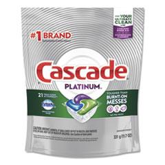 Cascade® ActionPacs, Fresh Scent, 11.7 oz Bag, 21/Pack, 5 Packs/Carton