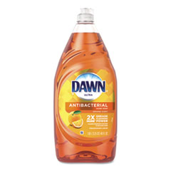 Dawn® Ultra Antibacterial Dishwashing Liquid, Orange, 40 oz Bottle