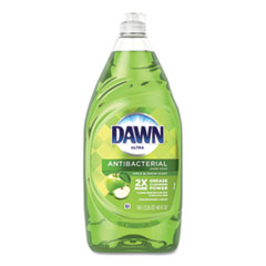 Dawn® Ultra Antibacterial Dishwashing Liquid, Apple Blossom, 40 oz Bottle, 8/Carton