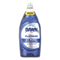 Dawn® Ultra Platinum Dishwashing Liquid, Refreshing Rain, 34 oz Bottle, 8/Carton