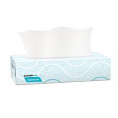 Cascades PRO Signature Facial Tissue, 2-Ply, White, Flat Box, 100 Sheets/Box, 30 Boxes/Carton