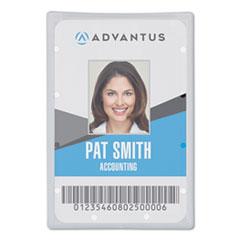 Advantus Clear ID Card Holder
