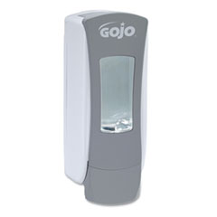 "GOJO® ADX-12 Dispenser, 1250 mL, 4.5"" x 4"" x 11.25"", Gray"