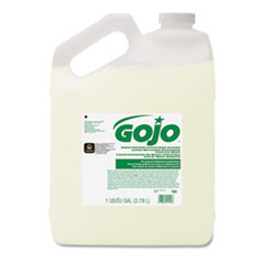 GOJO® Green Certified Lotion Hand Cleaner, 1 Gallon Bottle, Floral Scent, 4/Carton