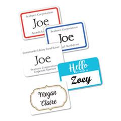 Avery® Flexible Adhesive Name Badge Labels