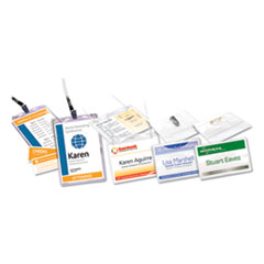 Avery® Name Badge Holder Kits with Inserts