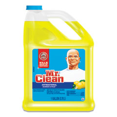 Mr. Clean® Multi-Surface Antibacterial Cleaner, Summer Citrus, 1 gal Bottle, 4/Carton