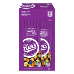Kar's Nuts Caddy, Sweet 'N Salty Mix, 2 oz Packets, 24/Box