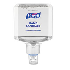 PURELL® Healthcare Advanced Hand Sanitizer Foam, 1200 mL, Refreshing Scent, For ES4 Dispensers, 2/Carton