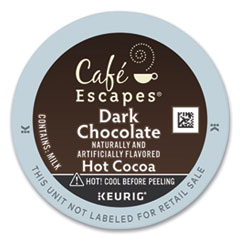 Café Escapes® Dark Chocolate Hot Cocoa K-Cups®