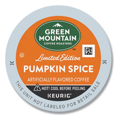 Green Mountain Coffee® Fair Trade Certified Pumpkin Spice Flavored Coffee K-Cups, 24/Box