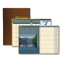 House of Doolittle(TM) Landscapes(TM) 100% Recycled Weekly/Monthly Planner