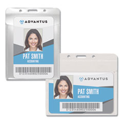Advantus PVC-Free Badge Holders