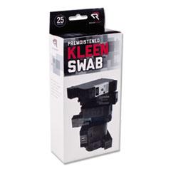 Read Right® KleenSwabs Printer Cleaner Swabs, 25/Box