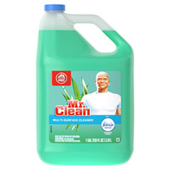 Mr. Clean® Multipurpose Cleaning Solution with Febreze, 128 oz Bottle, Meadows and Rain Scent
