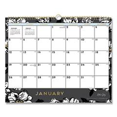 Blue Sky® Baccara Dark Wall Calendar, 15 x 12, 2021