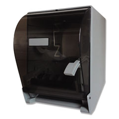 GEN Lever Action Roll Towel Dispenser, 11.25 x 9.5 x 14.38, Transparent