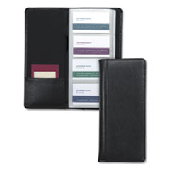 Samsill® Regal™ Leather Business Card File