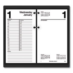 AT-A-GLANCE® Large Desk Calendar Refill, 4 1/2 x 8, White, 2020
