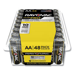 Rayovac® Ultra Pro Alkaline AA Batteries, 48/Pack