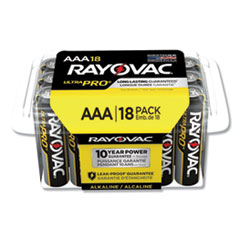 Rayovac® Ultra Pro Alkaline AAA Batteries, 18/Pack