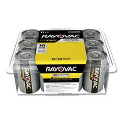 Rayovac® Ultra Pro Alkaline D Batteries, 12/Pack
