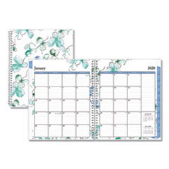 Blue Sky® Lindley Weekly/Monthly Wirebound Planner