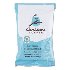 Caribou Coffee® Daybreak Ground Coffee, 2.5 oz, 18/Carton