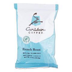 Caribou Coffee® French Roast Ground Coffee, 2.5 oz, 18/Carton