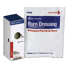 First Aid Only™ SmartCompliance Refill Burn Dressing