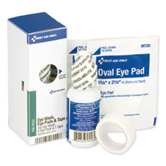 First Aid Only™ SmartCompliance Eyewash Set with Eyepads and Adhesive Tape