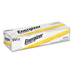 Energizer® Industrial Alkaline 9V Batteries, 12/Box