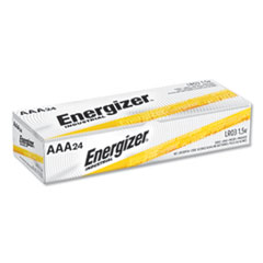 Energizer® Industrial Alkaline AAA Batteries, 1.5V, 24/Box