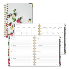 Blueline® Romantic Weekly/Monthly Hard Cover Planner