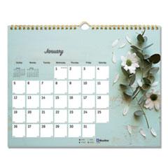 Blueline® Romantic Wall Calendar
