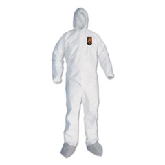 KleenGuard™ A45 Liquid/Particle Protection Surface Prep/Paint Coveralls, 2XL, White, 25/CT