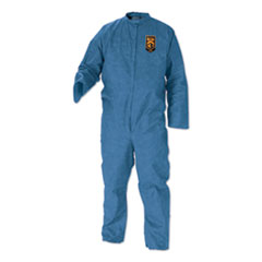 KleenGuard™ A20 Breathable Particle-Pro Coveralls, Zip, 2X-Large, Blue, 24/Carton