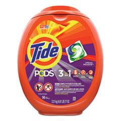 Tide® Detergent Pods, Spring Meadow, 96/Tub