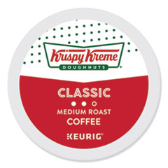 Krispy Kreme Doughnuts® Classic Coffee K-Cups, Medium Roast, 24/Box