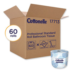Cottonelle® Two-Ply Bathroom Tissue, Septic Safe, White, 451 Sheets/Roll, 60 Rolls/Carton