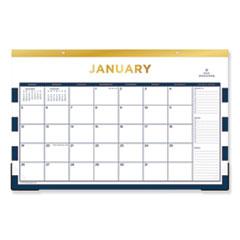 Blue Sky® Day Designer Desk Pad Calendar, 17 x 11, 2021