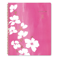 AT-A-GLANCE® Sorbet Weekly/Monthly Planner, 11 x 8.5, Pink/White, 2021