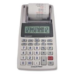Sharp® EL-1611V Printing Calculator, Black/Red Print, 2 Line/Second